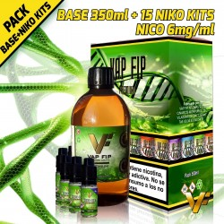 BASE 350ml + 15 NIKO KITS (NICO 6mg/ml)