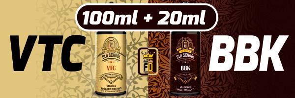 120ml e-liquid BBK y VTC