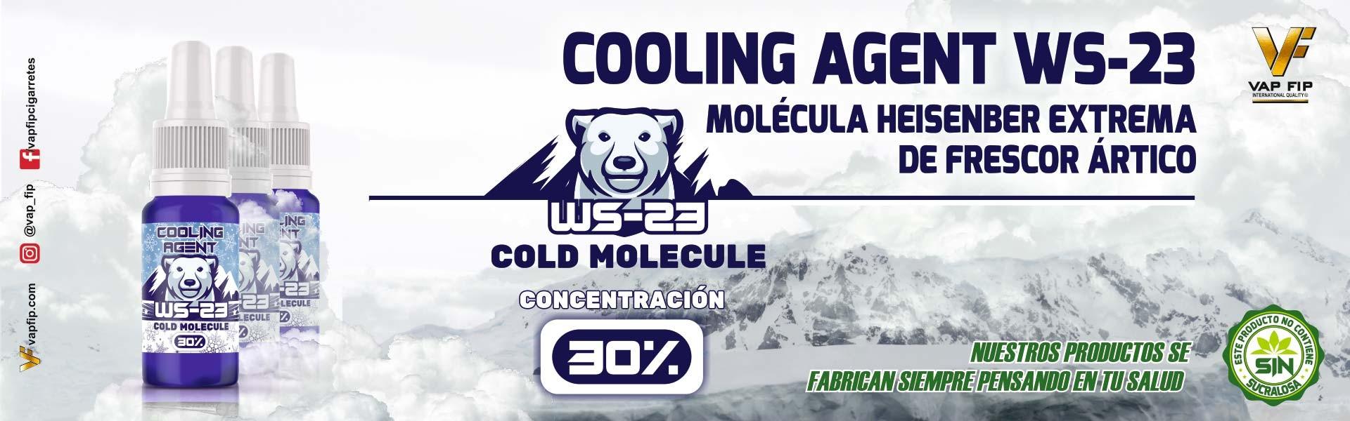 COOLING AGENT WS-23 ( MOLÉCULA DE FRESCOR)